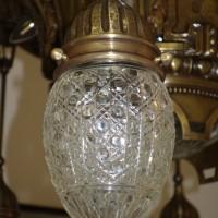 Jugendstil Lampenglas-antike Lampengläser