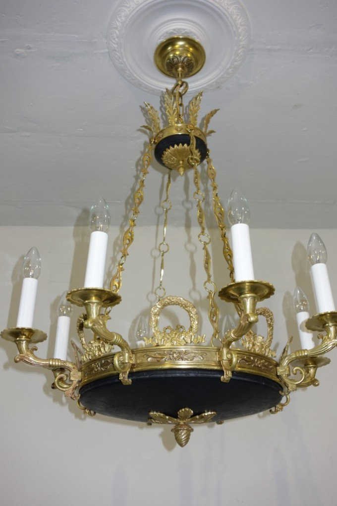 Schinkel leuchter prunkleuchter um 1920 antike lampen for Antike lampen