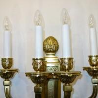 VERKAUF-Nr.12 Antike Empire Wandlampen Wandleuchter um 1900