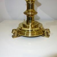 VERKAUF-Nr.18 Antike Schreibtischlampe Renaissance Stil um 1900