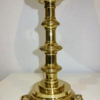 Renaissance-Tischlampen um 1925, Lampenschirme neu