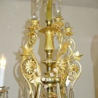VERKAUF-Nr.11 Gründerzeit Biedermeier - Kronleuchter - Lampe um 1860