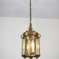 VERKAUF-Nr.6 Große Hallenlampe Laterne Bronze