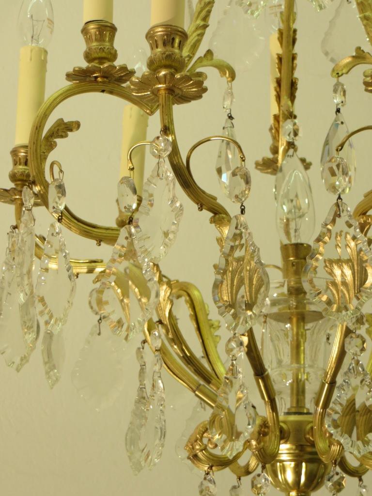 Nr 19 kronleuchter salonleuchter um 1900 antike lampen for Antike lampen