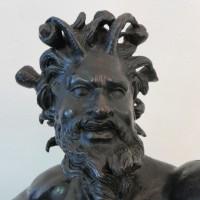 Bronze Faun restaurieren