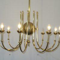 VERKAUF-Nr.4 Art Deco Kronleuchter Lampe