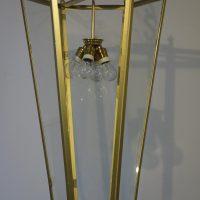 VERKAUF-Nr.13 Antike Laterne Pendelleuchte Art Deco