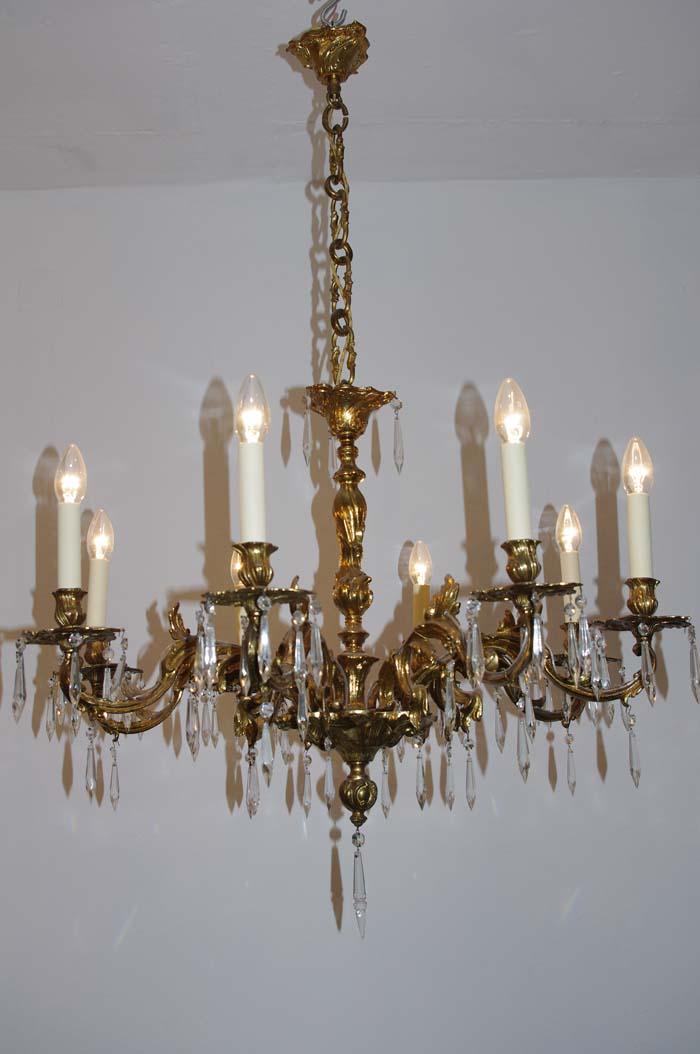 Kronleuchter neo rokoko antike lampen und leuchten for Antike lampen