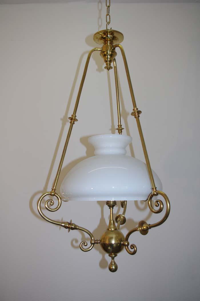 Gr nderzeit gaslampe elektrifiziert antike lampen for Antike lampen