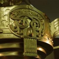 Antike Lampe restaurieren