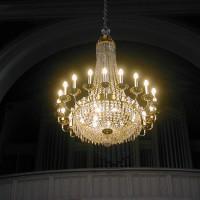 restaurierter Kirchenleuchter