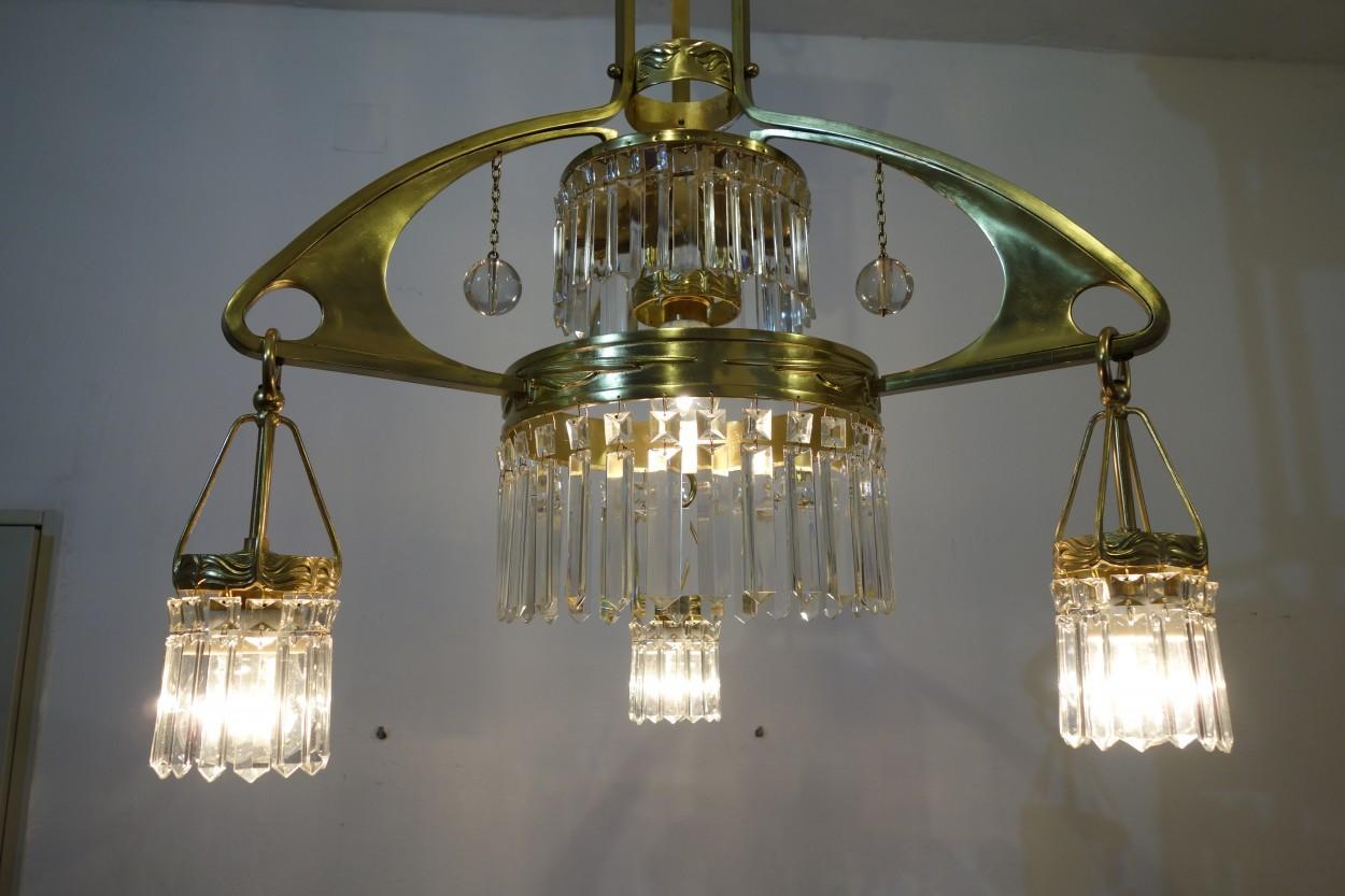 Antike Kronleuchter Verkaufen ~ Nr verkauf henry van de velde lampe u a antike lampen und leuchten